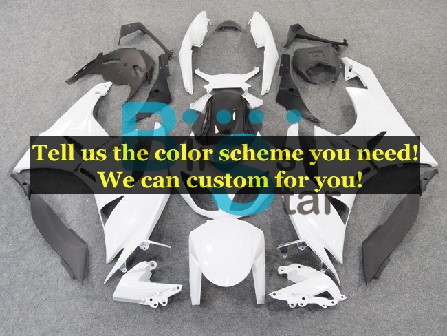 custom fairing kits fit for Kawasaki Ninja ZX-6R 2009 2010 2011 2012